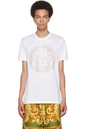 Men Short Sleeve - Versace Embellished Medusa T-Shirt