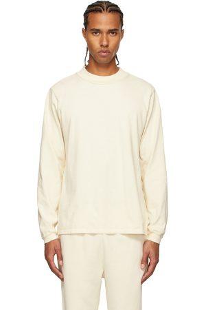 Men Long Sleeve - Les Tien Off- Heavyweight Mock Neck Long Sleeve T-Shirt