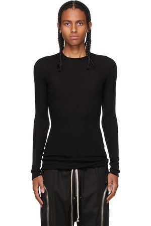 Rick Owens Cashmere Ribbed Sweater