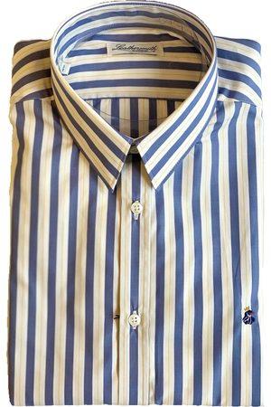 LEATHERSMITH OF LONDON 5139 Striped Yellow Shirt