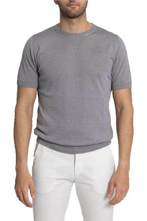 +39 MASQ Knitted Silk T-Shirt/Grey