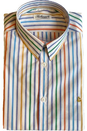 LEATHERSMITH OF LONDON Men T-shirts - 5260 Striped Multi Shirt
