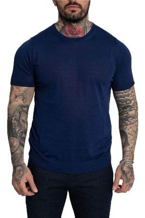 +39 MASQ Knitted Silk T-Shirt/Royal