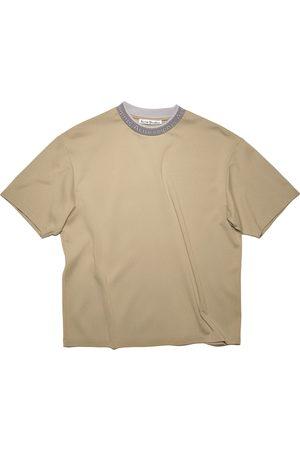 Acne Studios Men Short Sleeve - Logo Binding T-Shirt/