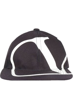 VALENTINO Men Caps - V Logo Baseball Cap