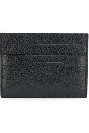Balenciaga Men Wallets - Neo Classic Grained Leather Cardholder