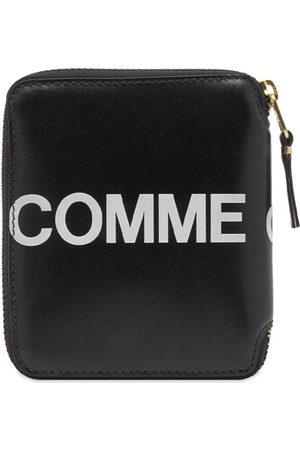 Comme des Garçons Men Wallets - Logo Print Wallet/Black
