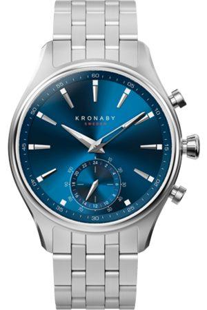 Kronaby Sekel 41mm Hybrid Smartwatch - Blue, Steel