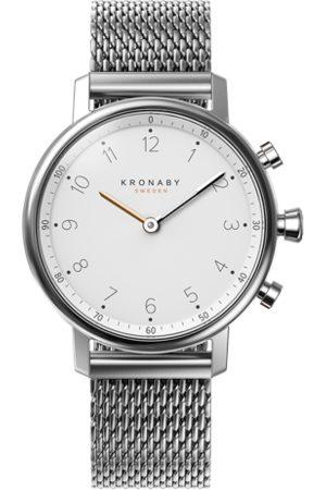 Kronaby Nord 38mm Hybrid Smartwatch - White, Steel