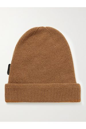 Tom Ford Men Beanies - Ribbed Cashmere Beanie