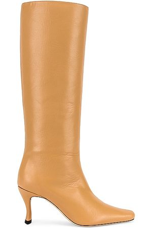By Far Women High Leg Boots - Stevie 42 Boot in Bone