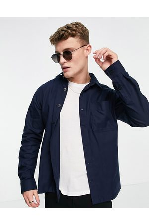 SELECTED Double pocket overshirt in