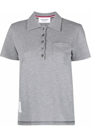 Thom Browne Chest patch pocket polo shirt