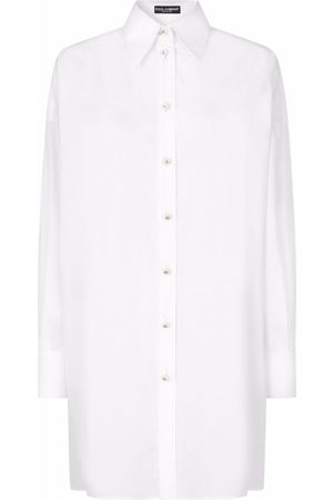 Dolce & Gabbana Lace-panel long shirt