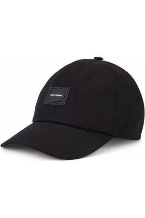 Dolce & Gabbana Logo-patch stretch-cotton cap