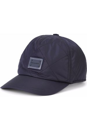 Dolce & Gabbana Kids Quilted logo-patch cap