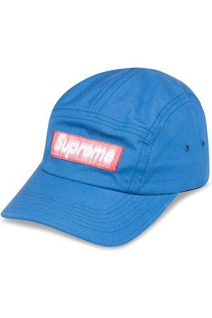 Supreme Reverse label camp cap