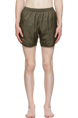 True Tribe Khaki Wild Steve Swim Shorts