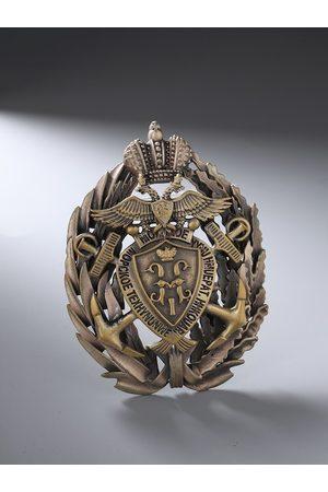 COSA NOSTRAA Men Pins - Men Antique Gold-Toned The Musahi Brooch