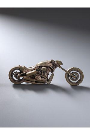 COSA NOSTRAA Men Antique Gold-Toned Joyride Brooch