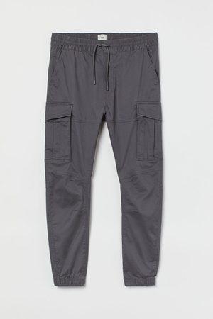 H&M Men Cargo Trousers - Cargo joggers - Grey