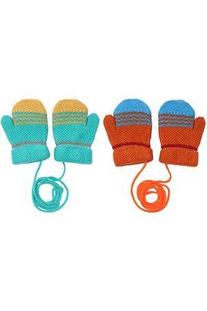 FabSeasons Unisex Infant Kids Pack of 2 Acrylic Gloves