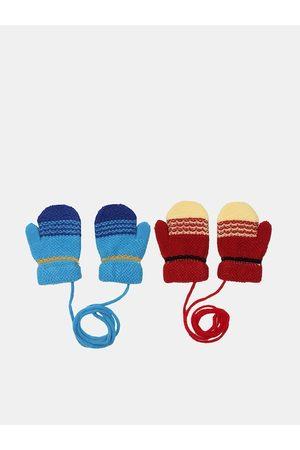 FabSeasons Unisex Kids Pack of 2 Acrylic Gloves
