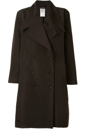 CHANEL 1998 double-breasted trench coat