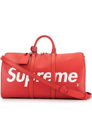 LOUIS VUITTON X Supreme pre-owned Keepall Bandouliere 45 travel bag