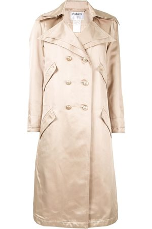 CHANEL Women Trench Coats - Double-breasted trench coat