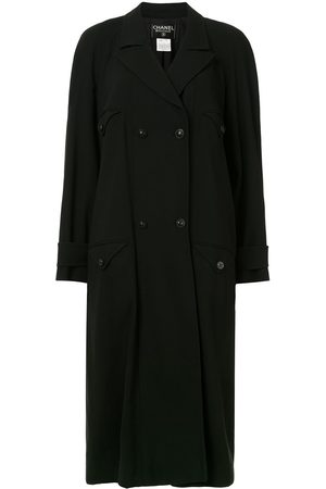 CHANEL Women Trench Coats - 1997 belted trench coat