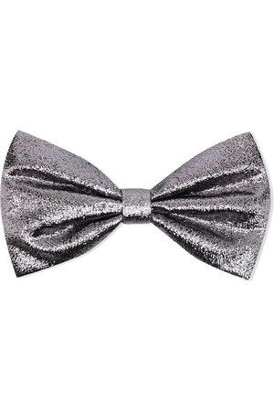 HUCKLEBONES LONDON Metallic bow-detail hairclip