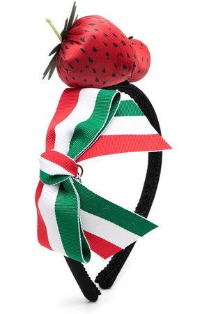 MONNALISA Girls Hair Accessories - Strawberry applique head band
