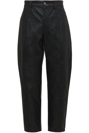 KOCHÉ Men Leather Trousers - Eco Leather Tapered Pants