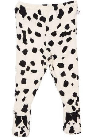 Stella McCartney Girls Formal Trousers - Organic Cotton & Wool Knit Leggings