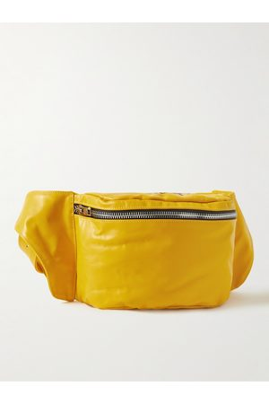 GALLERY DEPT. Men Belts - Logo-Print Leather Belt Bag