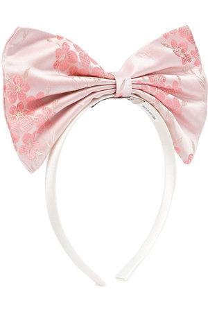 HUCKLEBONES LONDON Girls Headbands - Oversized bow headband