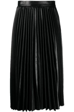 RED Valentino High-waisted pleated skirt
