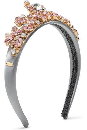 Dolce & Gabbana Crystal-embellished head band