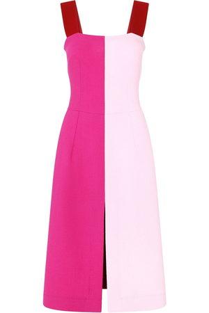 Dolce & Gabbana Women Dresses - Colour-block slit-detail dress