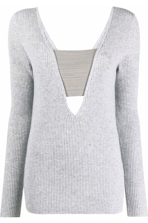 Brunello Cucinelli Ribbed-knit long-sleeve jumper