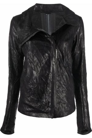 ISAAC SELLAM EXPERIENCE Prudent leather jacket