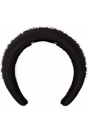 Erdem Women Hair Accessories - Crystal-embellished hairband