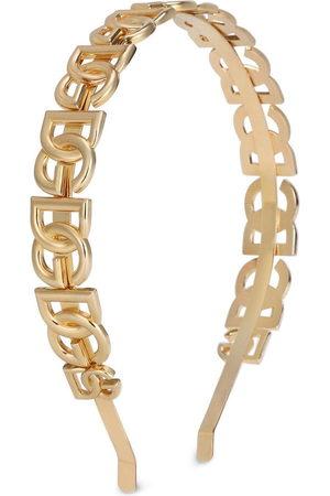 Dolce & Gabbana Women Hair Accessories - Logo-plaque hairband