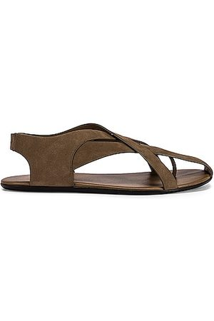The Row Spider Sandals in Moonstone