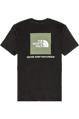 The North Face Short Sleeve Box NSE Tee in TNF