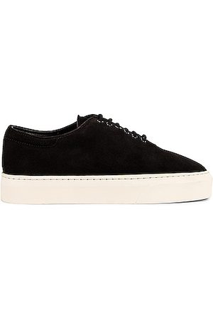 The Row Marie H Lace Up Sneakers in