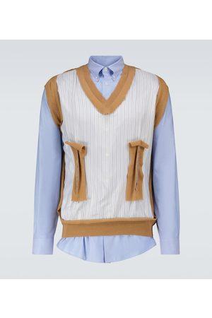 Maison Margiela Spliced shirt and vest