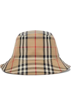 Burberry Baby Vintage Check cotton-blend bucket hat
