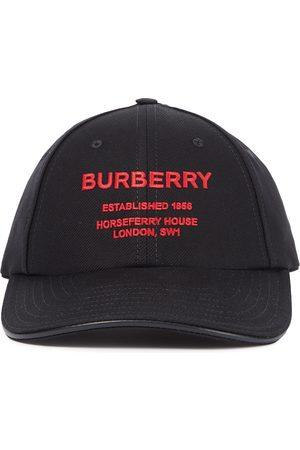 Burberry Logo cotton canvas baseball cap